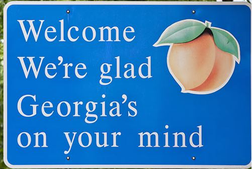 Georgia on Your Mind