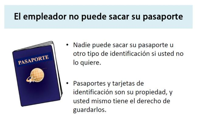 Keep your passport